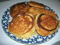 SOUTHERN CORNMEAL HOECAKES OR FRIED CORNBREAD - I grew up on these.  My mom made these in her iron skillet all the time!!