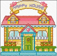 happy house free chart