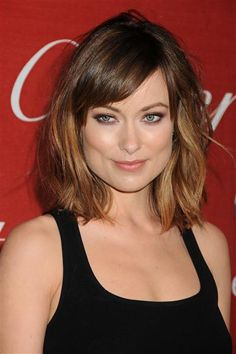 Bangs//Olivia Wilde. Do you like this look? Vote on various stars' bangs on Wonderwall: http://on-msn.com/ApoEwX