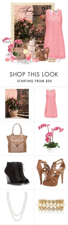 """""""Spring Ahead"""" by exxpress ❤ liked on Polyvore featuring WALL, Traffic People, LYDC, Ethan Allen, Burberry, Isolá, Henri Bendel, White House Black Market, Kate Spade and Pink"""