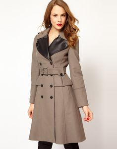 Karen Millen Glamourous Military Coat $571.67