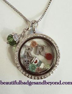 Custom Floating Locket Necklace