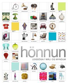 Hönnun - Leiðsögn í máli og myndum