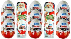 Surprise eggs, Kinder Surprise, Kinder Sorpresa, Kinder überraschung Wei...