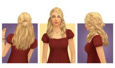 Sims 4 CC's - The Best: Hair by Simple Simmer