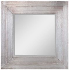 Wood Framed Wall Mirror With A Whitewashed Finish Product Mirrorconstruction Material And Mirrored Gl