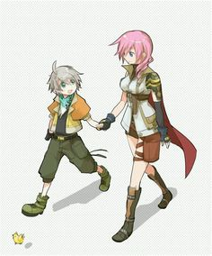 I hate Hope x Lightning. I always see a brother-sister, mother-son friendship between them, but no romance.