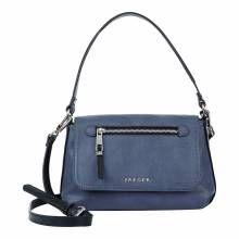 Jaeger Navy Ruby Zip Detail Bag