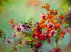 Orchid splendor by julie jilek btw, check out this free awesome art app for mobile: get inspired! Art Floral, Abstract Flowers, Abstract Art, Abstract Paintings, Love Art, Painting Inspiration, Orchids, Art Projects, Art Photography
