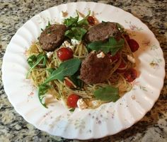 Giveaway & Home Chef Subscription Box - 12th Delivery, Turkey & Goat Cheese Meatballs with Pesto Spaghetti & Baby Arugula