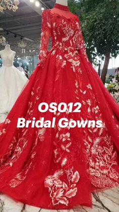 Bridal Gowns, Wedding Gowns, Red Quinceanera Dresses, Fashion Sewing, Ball Gowns, Formal Dresses, Clothing, Projects, Bride Dresses