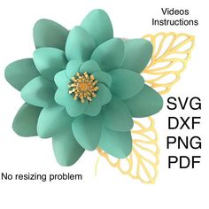 Giant Paper Flowers Template Svg Dxf Png Ddf, Flower Svg Files, Pdf Paper Flower Printable, Large Paper Flower Svg Template, Flor De Papel by MaiPaperFlowers on Etsy Large Paper Flower Template, Flower Petal Template, Paper Flower Patterns, Flower Svg, Leaf Template, Paper Flower Tutorial, Flower Clipart, Templates, Big Paper Flowers