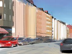 ArtStation - iPad plein air painting from my neighbourhood in Stockholm (2013), Anton Grandert