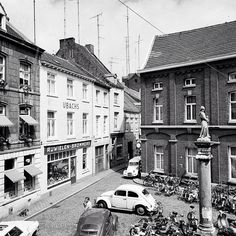 Amorsplein and Sporenstraat Maastricht (around 1970)