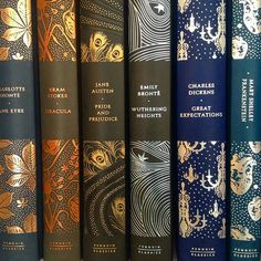 By far the prettiest covers I've seen of these classics!