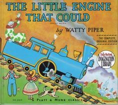 My brother had that book and my mom read it to us all the time!
