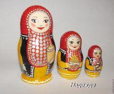 "Buy Matryoshka ""Bashkirochka"" - the national costume, painted matryoshka, matryoshka author, matryoshka collection"