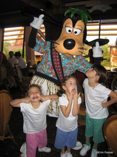 Tips for Dining in Disney with small children and toddlers!