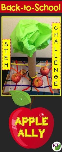 Video blog describes a Back-to-School STEM challenge you can use with grades 2 - 8, with modifications.