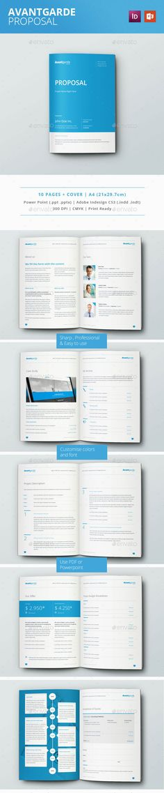 HMZH Multipurpose Proposal Brochure Proposals, Brochures and Template
