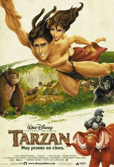 Tarzan (1999) love the songs <3
