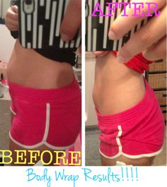 It works skinny wrap! Wonderful results for this customer Get wraps $40 off! Questions? call/text 520-840-8770 http://bodycontouringwrapsonline.com/wholesale