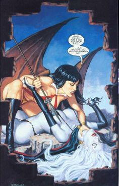 Lady Death vs Vampirella | The End •Dorian Cleavenger