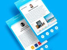 Zero App Redesign by ALEX BENDER