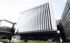 Obras de rehabilitación de fachada de un céntrico edificio de Madrid