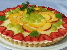 Lehký ovocný koláč