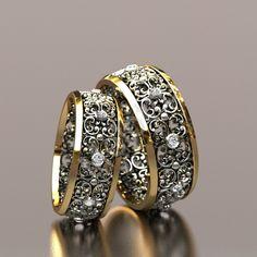 Обручальные кольца Винтаж 79000 руб. Royal Jewelry, Ear Jewelry, Art Deco Jewelry, Body Jewelry, Jewelery, Jewelry Design, Wedding Ring Bands, Wedding Jewelry, Popular Engagement Rings