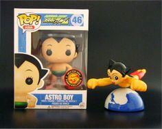 Funko Pop Toy Metallic Astro Boy Asia Limited Edition Exclusive 2015 Free Gift #FUNKO