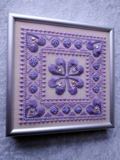 You Gotta to Have Heart Vintage Cross Stitch  by HourGlassMoments