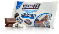 MINIATURES Cookies 'n' Chocolate Assortment: Enjoy HERSHEY'S COOKIES 'N' CHOCOLATE Miniatures Assortment: a unique twist on a classic with cookies in every bite.