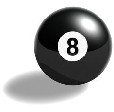8 ball | The Magic 8-Ball is a registered trademark of Tyco. Buy one today.