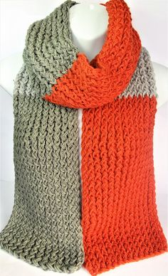 Check out this item in my Etsy shop https://www.etsy.com/uk/listing/550767983/copper-and-grey-scarf-hand-woven-scarf