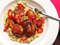 how to sear scallop