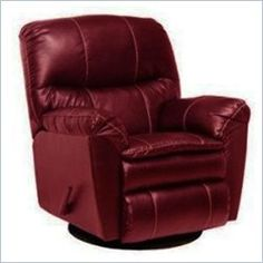 catnapper cosmo bonded leather swivel glider recliner chair