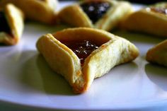 smitten kitchen's hamantaschen - Happy Purim! I made these with my Hungarian grandmother when I was very young...sweet memories with granny Kata.