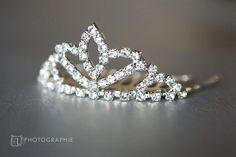 Crystal Tiara by fancyflop on Etsy #Prom #Wedding #Rhinestonetiara #Crystaltiara