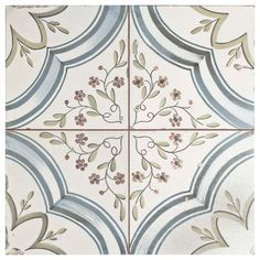 Add a touch of vintage industrial design to your home decor by choosing this Merola Tile Kings Flatlands Ceramic Floor and Wall Tile. Raku Pottery, Tiles Texture, Old World Style, Distressed Painting, Stone Tiles, Stone Mosaic, Wall Patterns, Kitchen Flooring, Ceramic Flooring