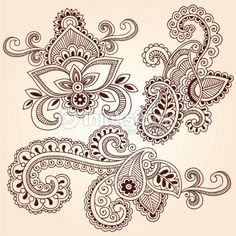 me fascinan los tatuajes de diseño indu