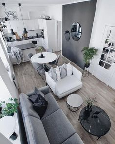 49 Lovely Small Living Room Decor Ideas For Your Apartment livingroomdecor smalllivingroomdecor l&; 49 Lovely Small Living Room Decor Ideas For Your Apartment livingroomdecor smalllivingroomdecor l&; Small Space Living Room, Small Apartment Living, Simple Living Room, Small Apartments, Living Room Decor, Living Room Without Tv, Small Apartment Interior Design, Small Living Room Designs, Interior Design Ideas For Small Spaces