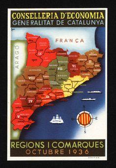 La organización territorial de España en el siglo XX / @gonzalo_prieto | #socialgeo