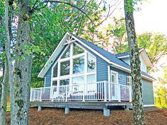 Our favourite cabin building plans: Sebright