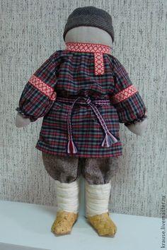 Народные куклы ручной работы. Ярмарка Мастеров - ручная работа Ванечка и Манечка. Handmade.