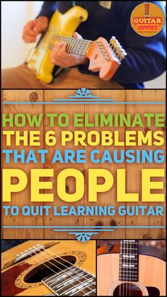 Why people quit guitar? And how to solve those problems? Inside. Stay with it because dream are big!