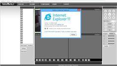 DVRs Intelbras no Internet Explorer 11 (Windows 8.1)