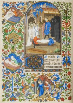 Liturgical: Buria | Book of Hours | France, Paris | ca. 1425-1430 | The Morgan Library & Museum