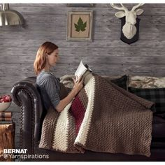 Hibernate Crochet Blanket